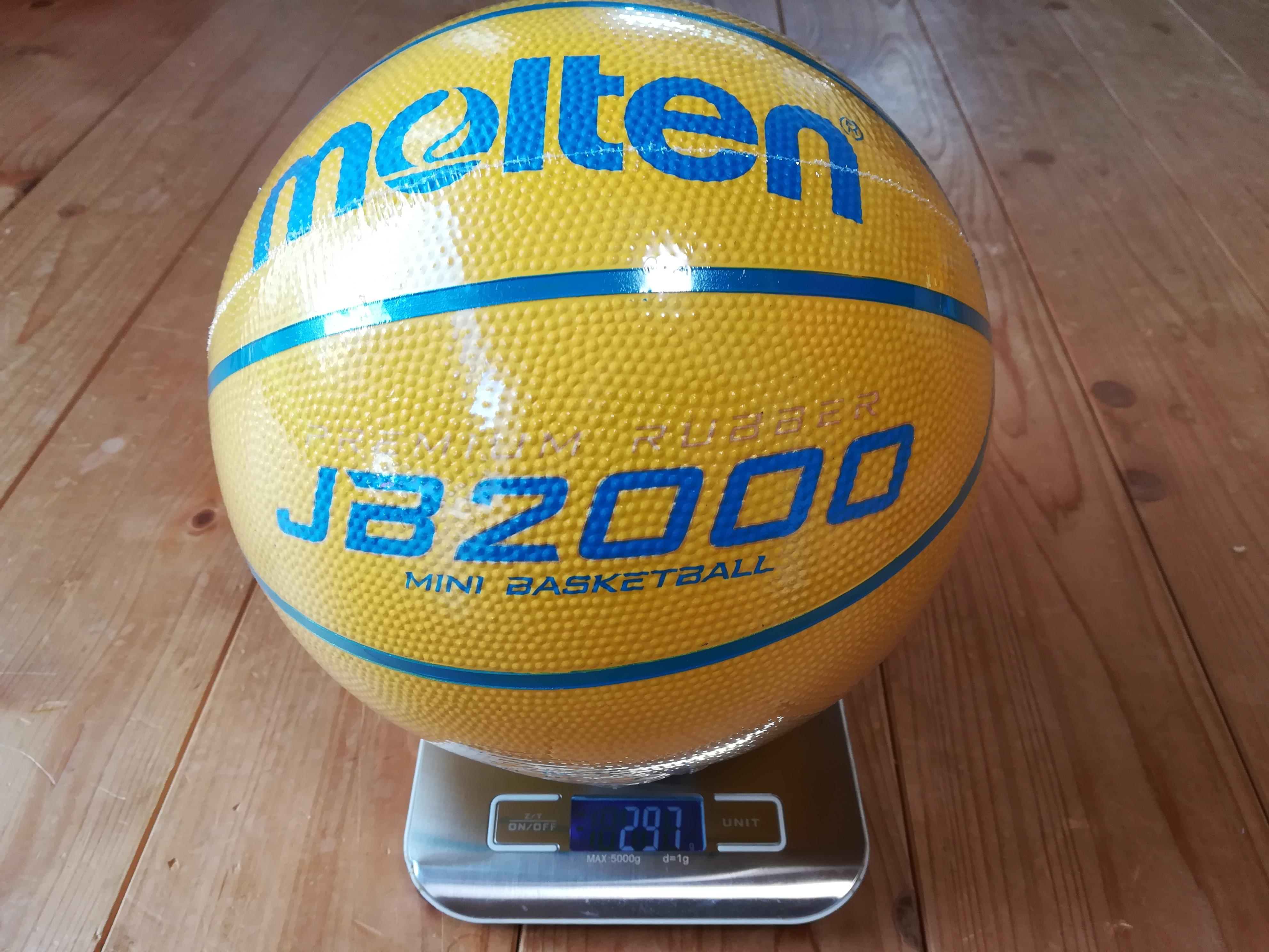 バスケットボール軽量4号球 297g